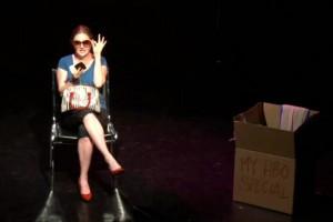 Genevieve Joy in My HBO Special