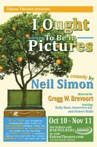 I Out To Be In Pictures Falcon Theatre Genevieve Joy